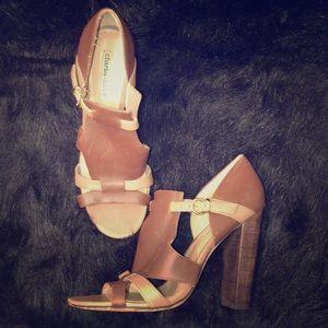 Charles David brown heels